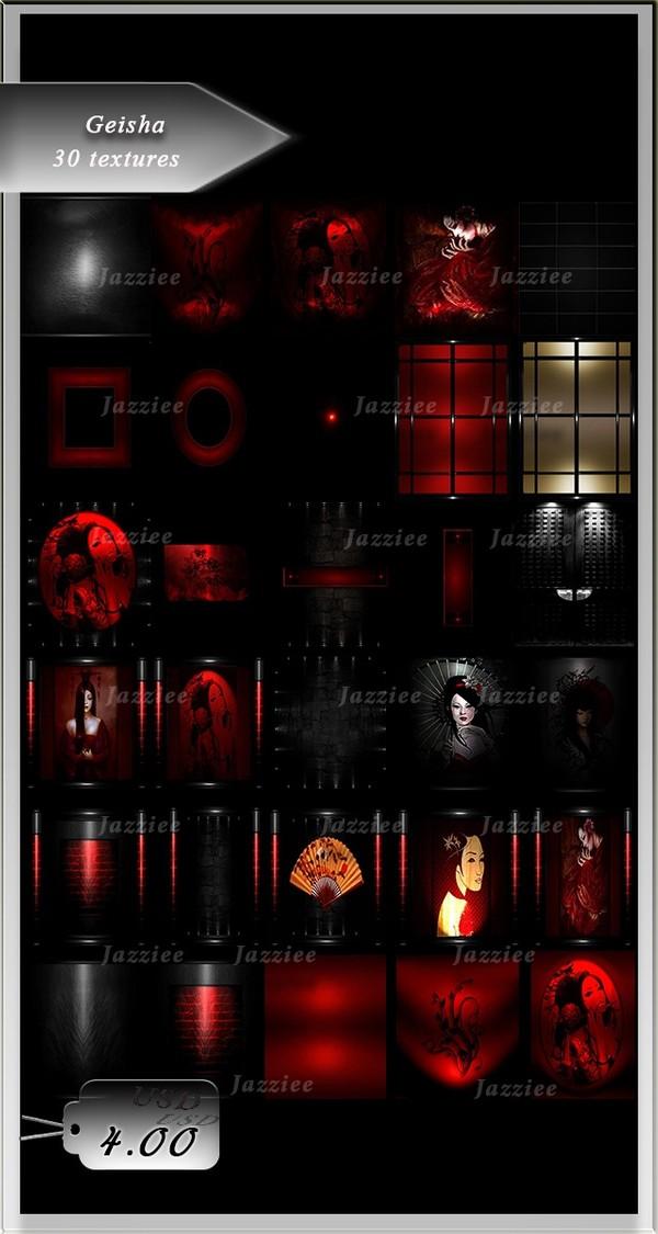 Geisha-30 Textures