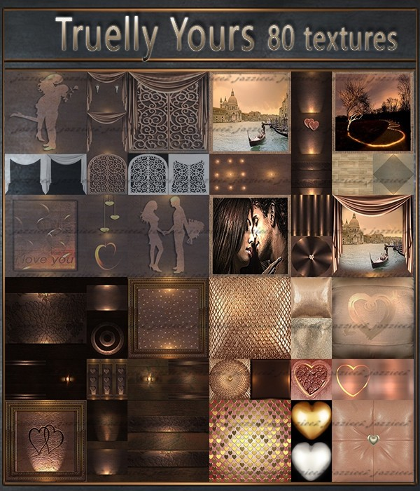 Truelly Yours 80 textures