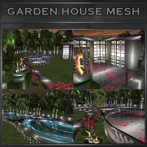 J&A-GARDEN HOUSE ROOM MESH