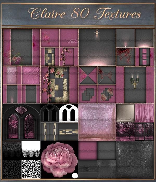 Claire 80 Textures