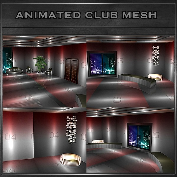 J&A-ANIMATED CLUB ROOM MESH