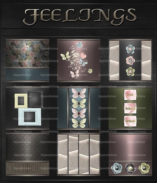 A~FEELINGS-50 TEXTURES