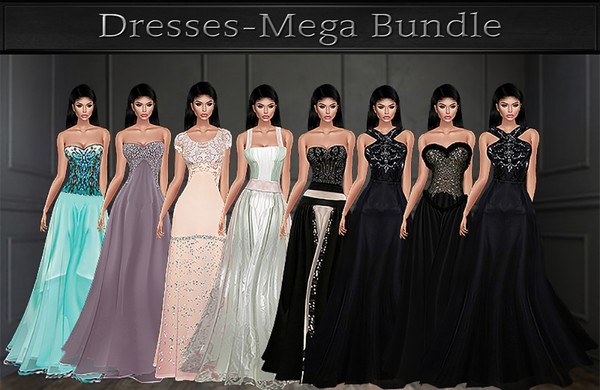 A~DRESSES MEGA BUNDLE-44 DRESSES