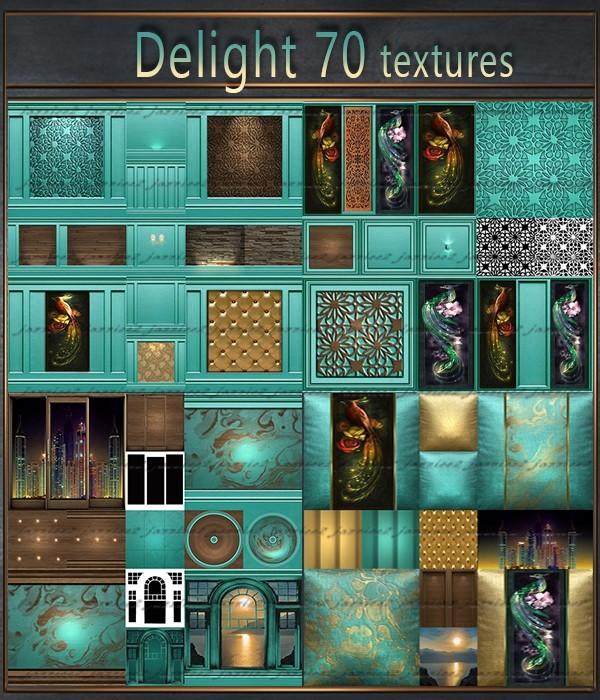 Delight 70 Textures
