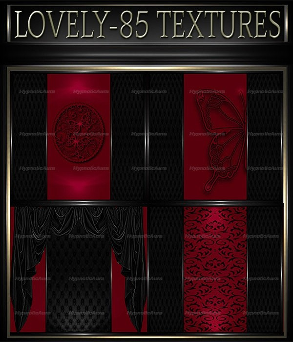 A~LOVELY-85 TEXTURES& GIFT PACK