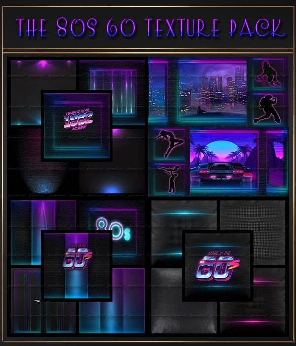 The 80s 60 Textures