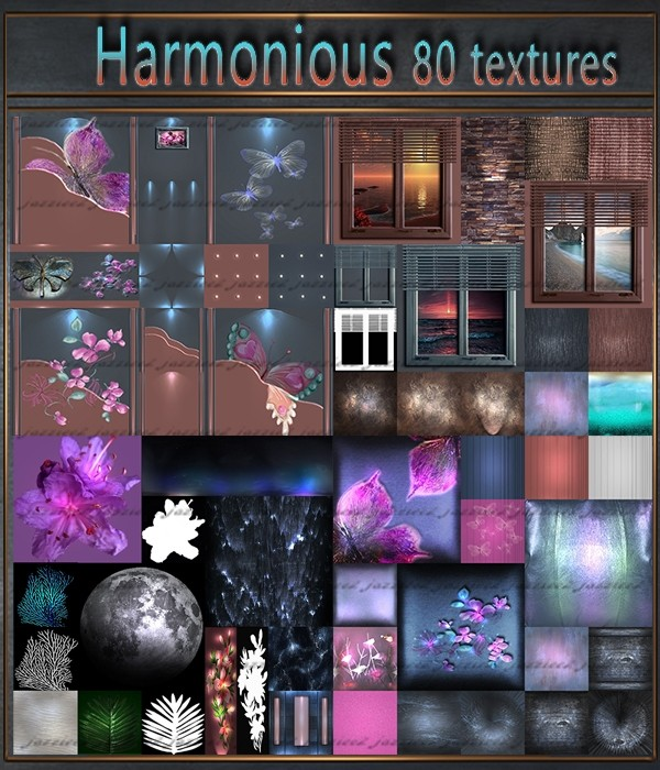 Harmonious 80 Textures