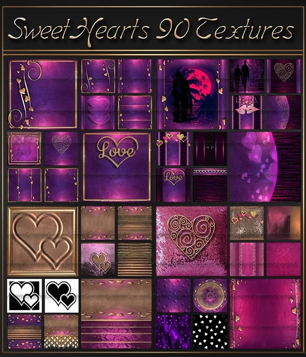 SweetHearts 90 Textures