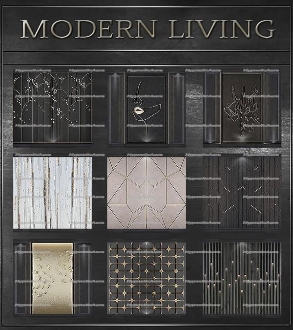 A~MODERN LIVING-80 TEXTURES