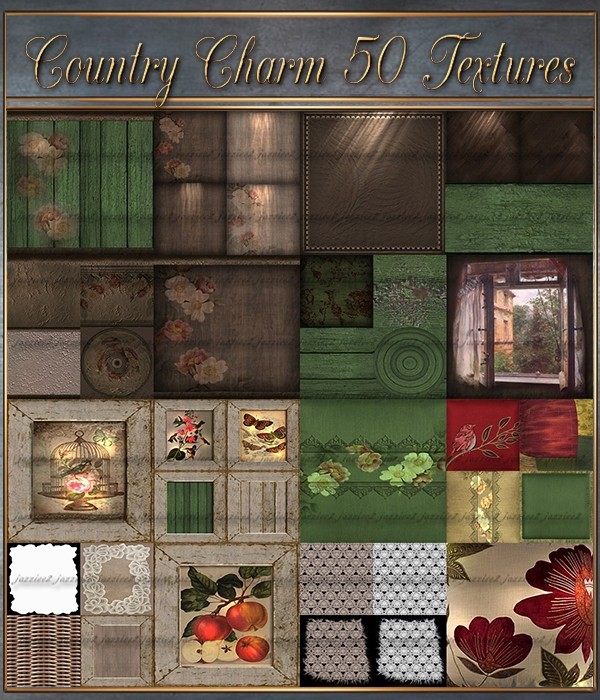 Country Charm 50 Textures