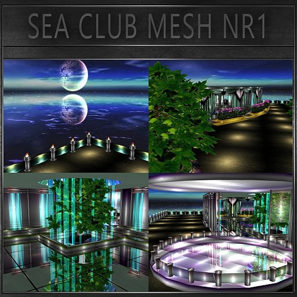 J&A-SEA CLUB MESH NR1