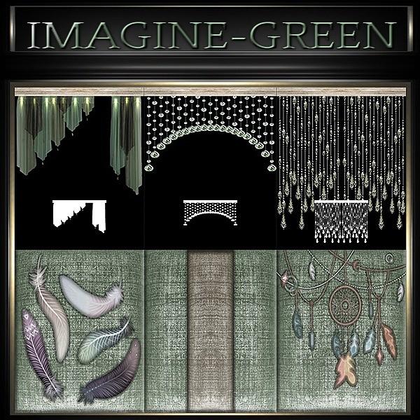 A~IMAGINE GREEN-48 TEXTURES