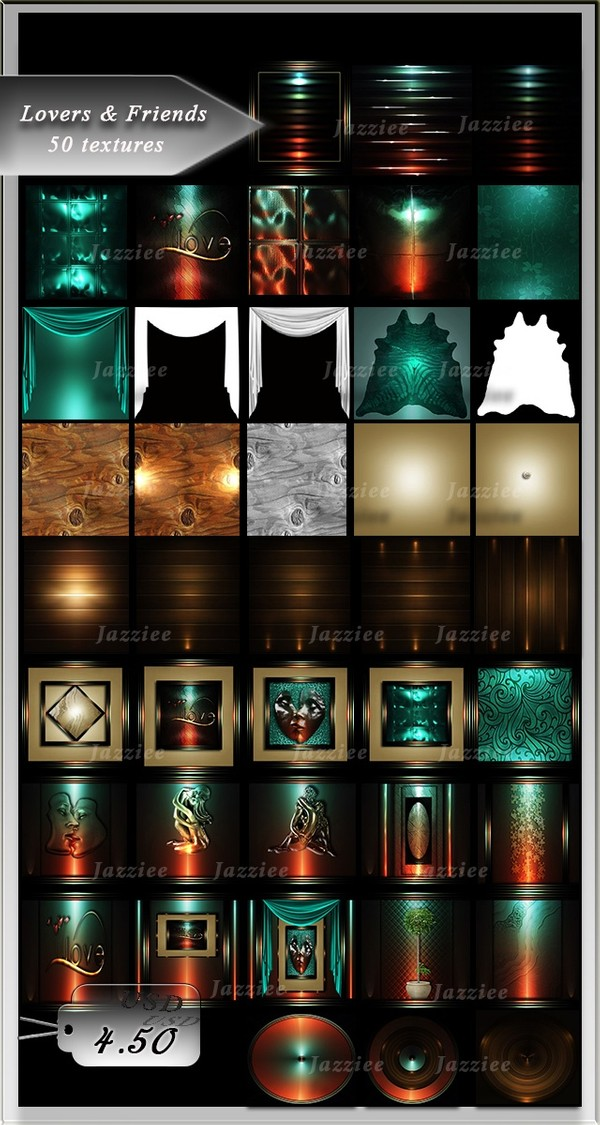 Lovers&Friends-50 Textures