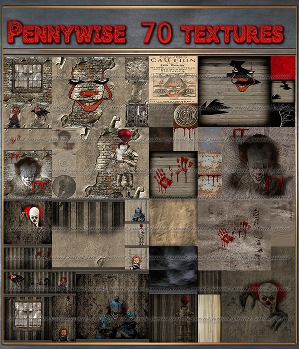 Pennywise 70 textures