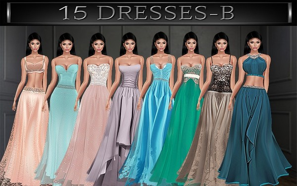 A~GOWNS-15 TEXTURE PACKS
