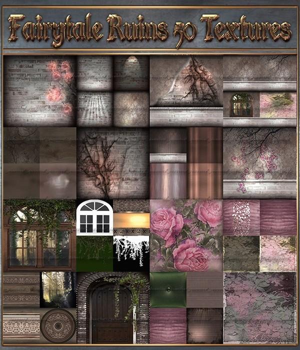 Fairytale Ruins 50 textures