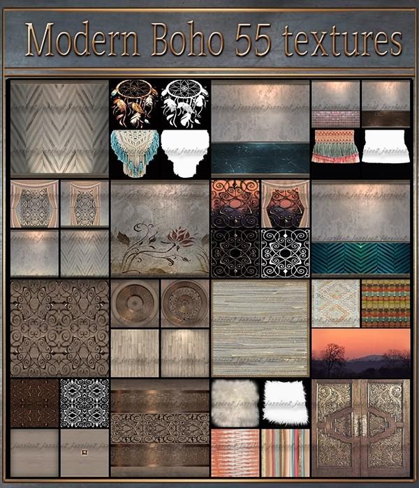 Modern Boho 55 Textures