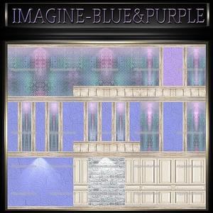 A~IMAGINE BLUE&PURPLE-80 TEXTURES