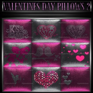 A~OFFER-VALENTINES DAY PILLOWS 1&2-60 TEXTURES