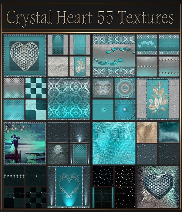 Crystal Heart 55 Textures