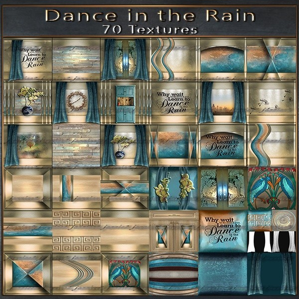Dancing in the Rain 70 Textures