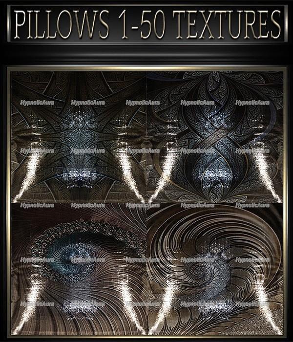 A~PILLOWS 1-50 TEXTURES&GIFT PILLOWS-35 TEXTURES