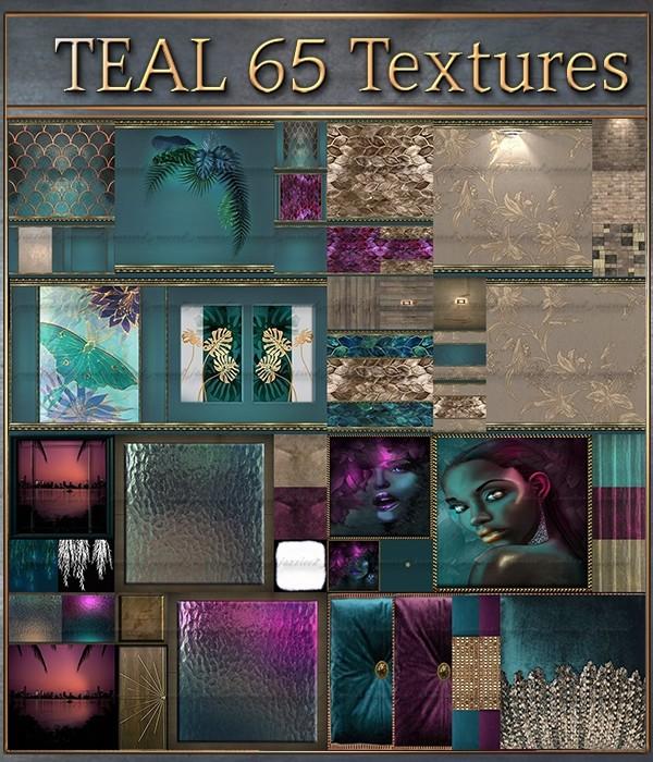 Teal 65 Textures