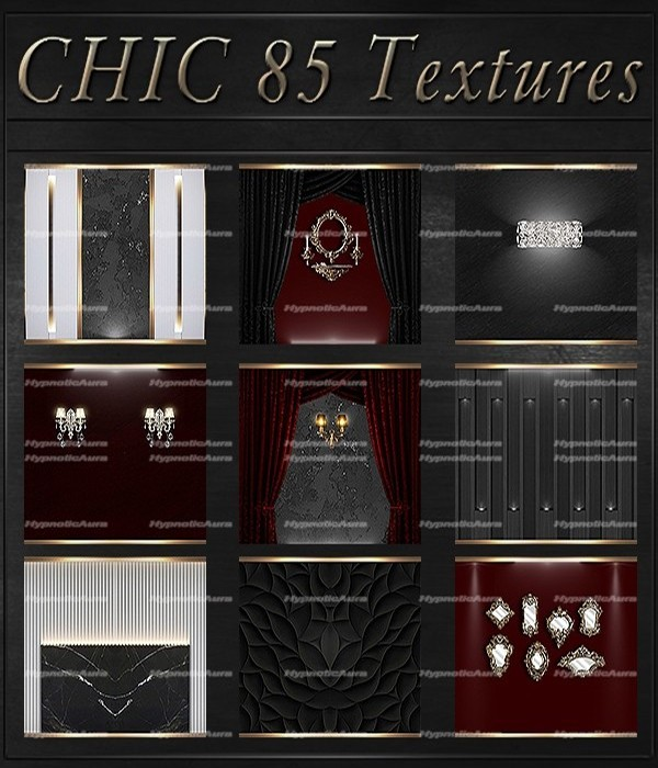 A~CHIC-85 Textures