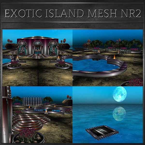 J&A-EXOTIC ISLAND MESH NR2