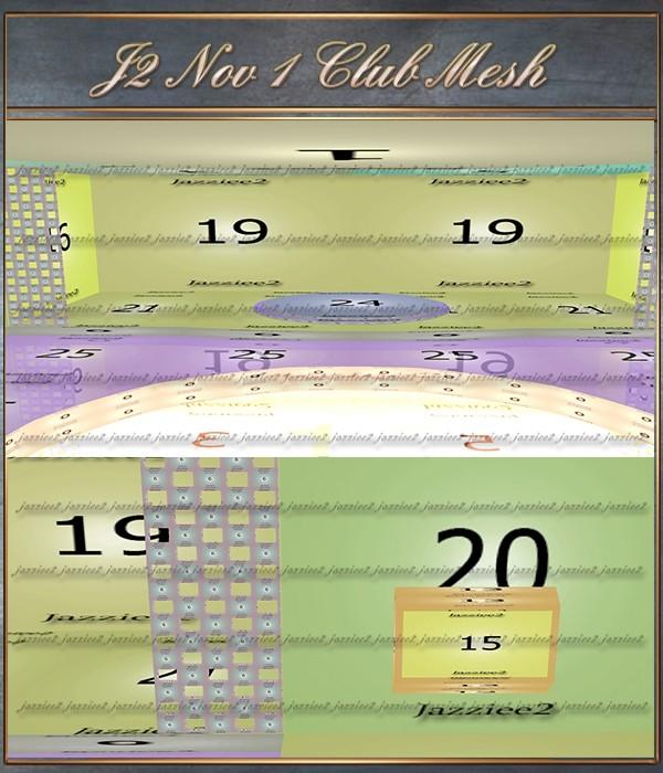J2 Nov 1 Club Mesh