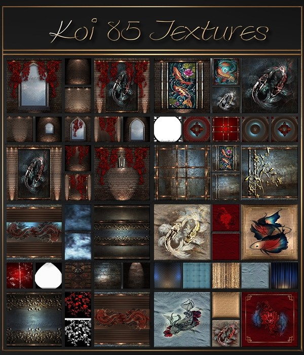 Koi 85 Textures