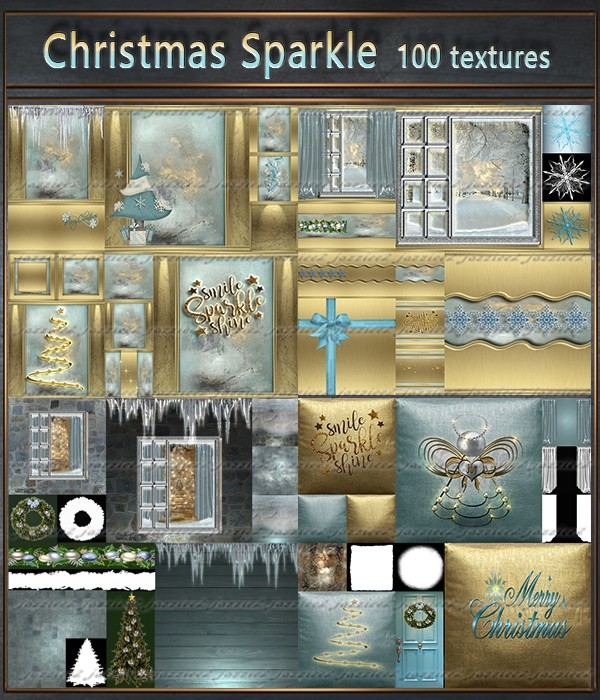 Christmas Sparkle 100 Textures
