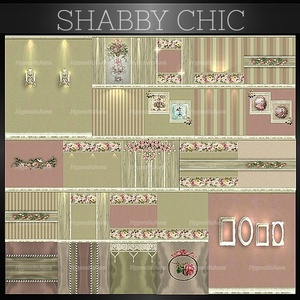 A~SHABBY CHIC-86 TEXTURES