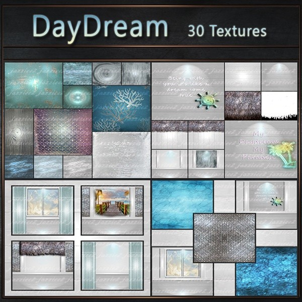 DayDream Texture Pack - 30 Textures
