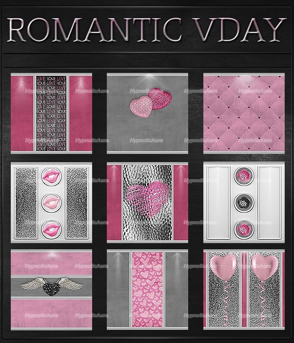 A~ROMANTIC VDAY-75 TEXTURES
