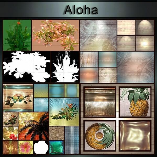 Aloha-32 Textures