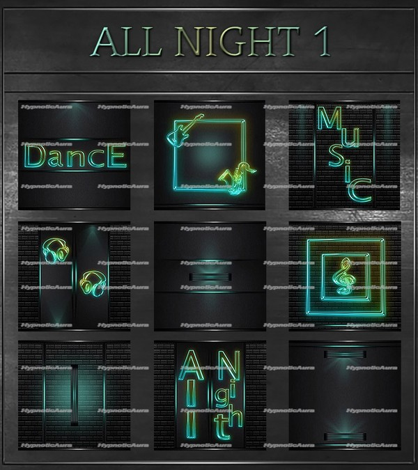 A~ALL NIGHT 1-50 TEXTURES