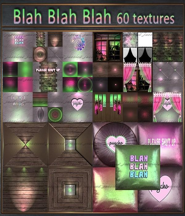 Blah Blah Blah 60 Textures