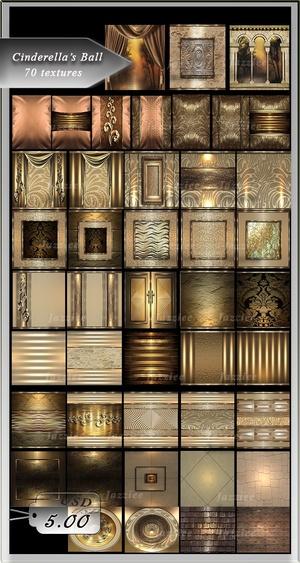 Cinderella's Ballroom-72 Textures