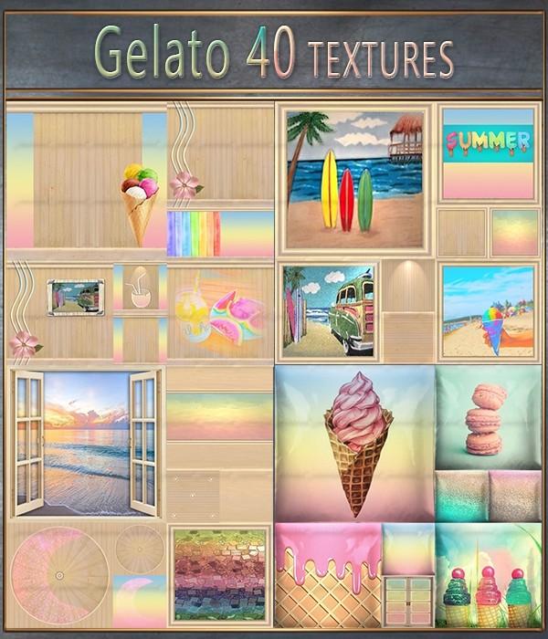 Gelato 40 Textures