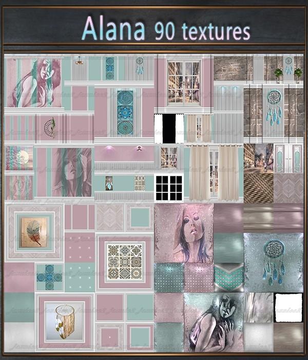 Alana 90 Textures