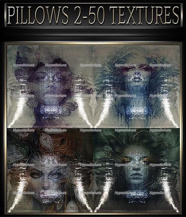 A~PILLOWS 2-50 TEXTURES&GIFT PILLOWS-35 TEXTURES