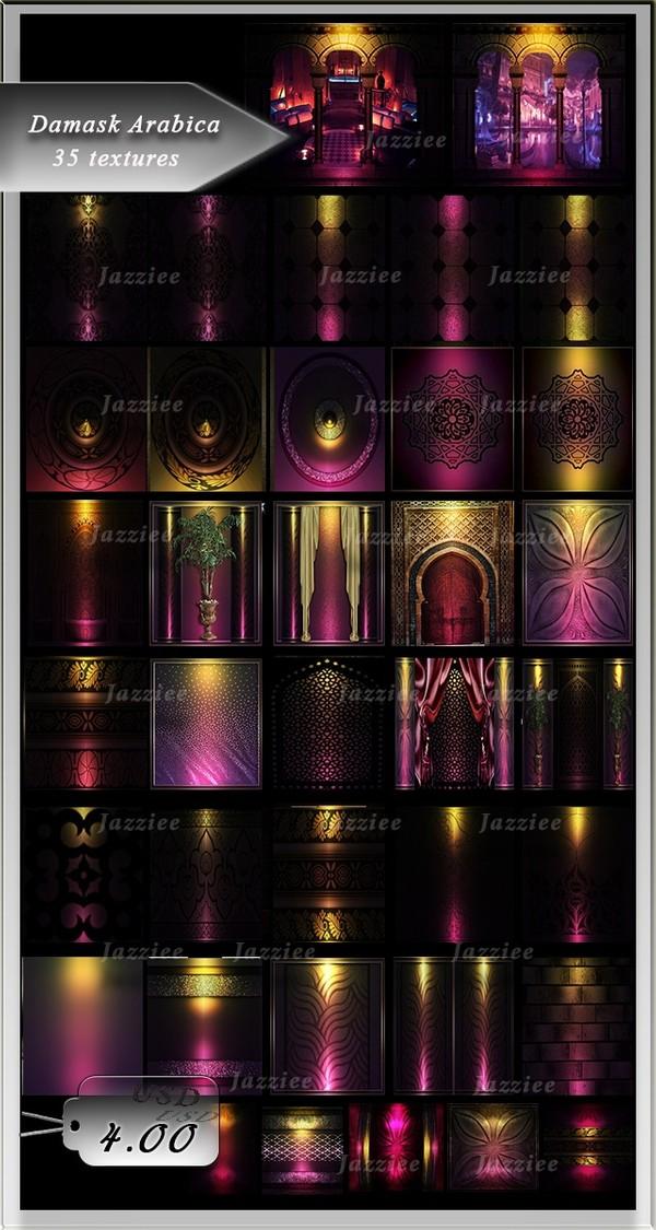 Damask Arabica-35 Textures