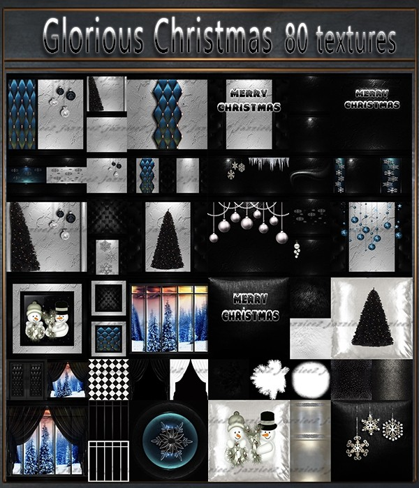 Glorious Christmas 80 Textures