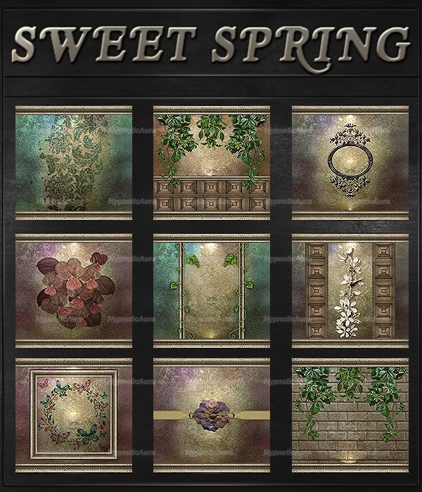 A~SWEET SPRING-60 TEXTURES