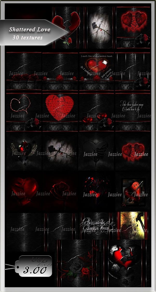 Shattered Love-30 Textures
