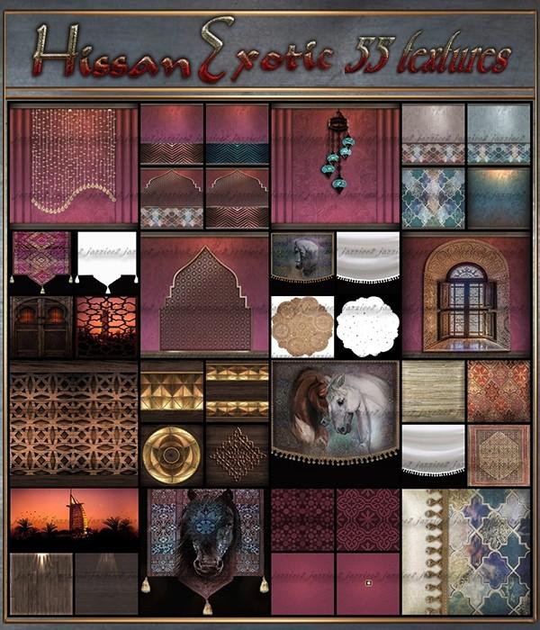 Hissam Exotic 55 Textures