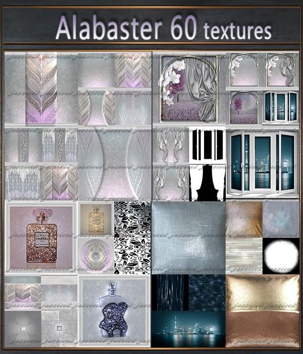 Alabaster 60 textures