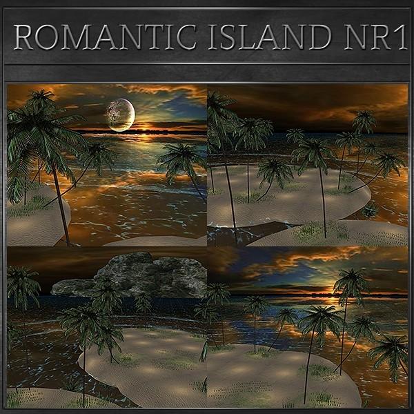 J&A-ROMANTIC ISLAND MESH NR1
