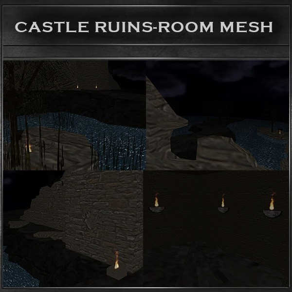 J&A-CASTLE-RUINS/ROOM MESH